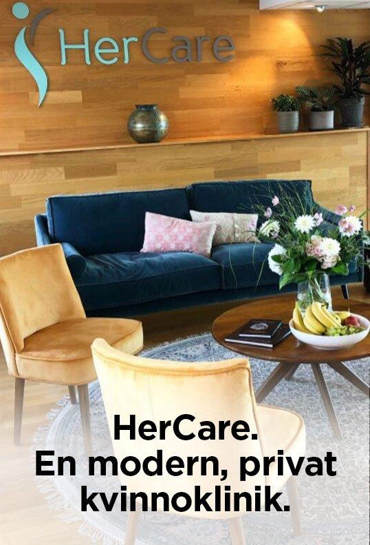 HereCare, en modern, privat kvinnoklinik.