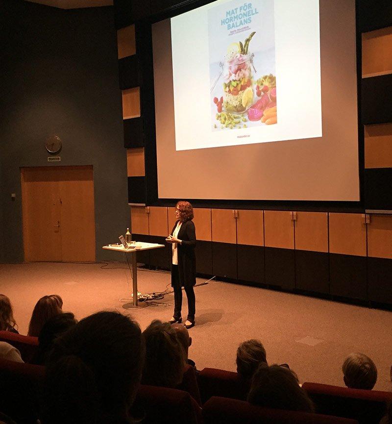 Mia Lundin föreläser både i Sverige och internationellt
